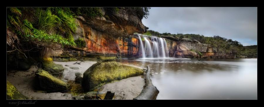 Wattamola Falls - (c) 2014 Gerard Blacklock